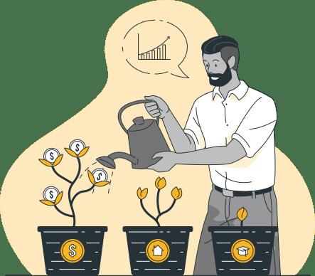 Diversificar riesgo en las startups